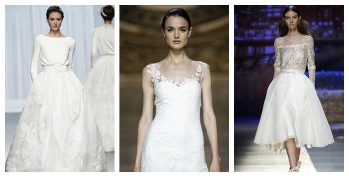 tendencias vestidos de novia 2016 |